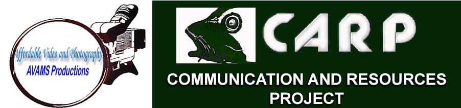 carp and avams logos